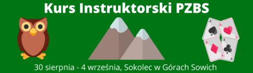 Kurs instruktorski w Sokolcu 30.08. - 04.09.2021 r.